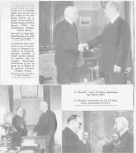 Ambassadeurs des Etats-Unis d'URSS et du Vatican