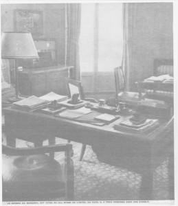 Bureau du chef de l'Etat Français à Vichy