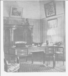 bureau du chef de l'Etat Français à l'Hôtel du Parc