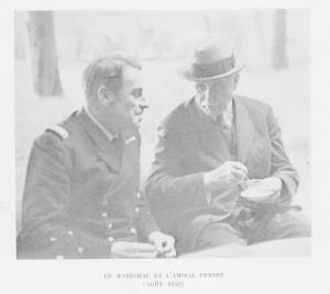 L'amiral Fernet, conseiller du Maréchal Pétain et coordinateur de la mise au point de la Constitution